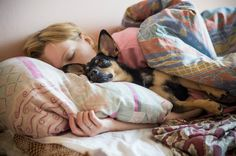 Photo about Woman and her dog comfortably sleeping in the bed. Image of rest, dreams, cute - 33707079 Graphic Design Layouts, Modern Graphic Design, Layout Design, Sleeping Dogs, Conspiracy, Dog Breeds, Pets, Animals, Image