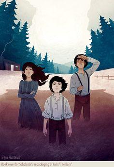 Ryan Andrews, The Barn, illustration