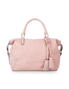 Ella Soft Handheld Bag | Pink | Accessorize