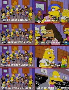#nadie quiere a milhouse