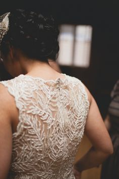 This is the gown Kels had... So beautiful | Tadashi Shoji wedding gown // photo by Floataway Studios