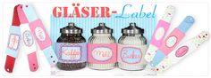 Gläser-Labels