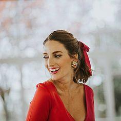 """1,142 Me gusta, 20 comentarios - Miss Cavallier (@misscavallier) en Instagram: """"Mi último look de invitada de noche en el blog! Todo al rojo y con un toque divertido!!❤️{link en…"""""""