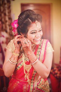 Moody bride! Photo by Dipayan  Majumder Photography, Howrah #weddingnet #wedding #india #indian #indianwedding #weddingdresses #mehendi #ceremony #realwedding #lehenga #lehengacholi #choli #lehengawedding #lehengasaree #saree #bridalsaree #weddingsaree #indianweddingoutfits #outfits #backdrops #bridesmaids #prewedding #photoshoot #photoset #details #sweet #cute #gorgeous #fabulous #jewels #rings #tikka #earrings #sets #lehnga