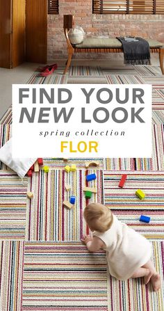 Refresh your home this Spring with FLOR. We believe what you put on your floor is the starting point for your design story. So we created a new way to think about rug design—created by you, without compromises. Check out FLOR.com and see what you can do!