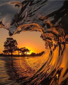 Sunset in Santa Cruz Photography by Nature Pictures, Cool Pictures, Cool Photos, Beautiful Pictures, Beautiful Images Of Nature, Beautiful Nature Photography, Nature Photography Flowers, Waves Photography, Landscape Photography