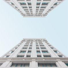 Shots of architecture and building grids