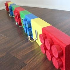 Check out this project on RYOBI Nation - This Lego coat rack is the perfect addition to a kid's room or mud room. The best part is, it's easy to build. My boys love this, and although I built this one for a charity project, I'm sure I will be building another one for my own kids very soon! More details here: