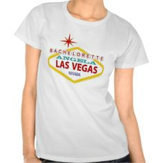 "Bachelorette ""YOUR NAME HERE"" Las Vegas Shirt"