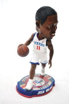 aaf95b5c1b7 Philadelphia 76ers Jrue Holiday 2012 Official NBA 11 Hm Jersey action Retro  Base Bobble Head -