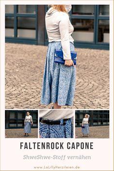 Trends, Diy Fashion, Hallo Winter, Diy Weihnachten, Pants, Inspiration, Dresses, Pleated Midi Skirt, Fashion Clothes