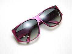 Vintage 80s Silhouette Sunglasses Large by Vintage50sEyewear