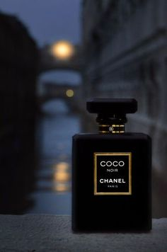 Coco Noir CHANEL. This definitely sets the mood of this elegant scent.