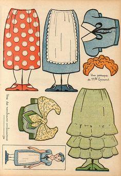 Mademoiselle Epinard paper doll part 2
