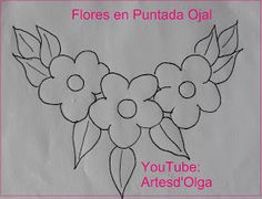 Artesd & # Olga: Flowers in Buttonhole Stitch Floral Embroidery Patterns, Mexican Embroidery, Baby Embroidery, Hand Embroidery Stitches, Hand Embroidery Designs, Applique Patterns, Ribbon Embroidery, Beading Patterns, Quilling Designs