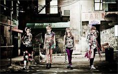 2NE1 ~ Ugly wallpaper