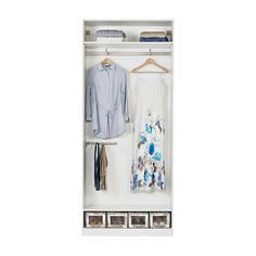 PAX Wardrobe with interior organizers IKEA 10-year Limited Warranty. Read about the terms in the Limited Warranty brochure.
