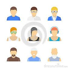 flat character design - Google Search