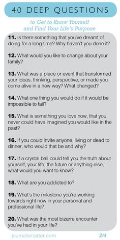 Better questions lead to better answers. Better answers lead to better actions. Here's a comprehensive list of deep questions to ask yourself. Quotes Dream, Life Quotes Love, Deep Questions To Ask, This Or That Questions, Questions To Get To Know Someone, Interesting Questions To Ask, Questions About Life, Best Friend Questions, Crush Questions