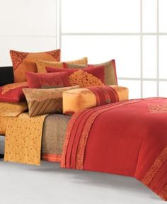 Natori Bedding, Snow Lion Collection - Bedding Collections - Bed & Bath - Macy's- LOVE THIS!!!!