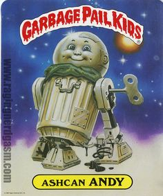 All sizes | Garbage Pail Kids school folder back | Flickr - Photo Sharing!