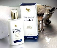 Pamper and soothe your skin with the moisture of Gentleman's Pride®, an alcohol-free aftershave in a clean, masculine scent. Feel the icy exhilaration of this unique blend of lubricants and moisturizers combined with pure, stabilized aloe vera gel. Forever Living Aloe Vera, Forever Aloe, Gentleman, Forever Business, After Shave Balm, Forever Living Products, Moisturiser, Cleansers, Aloe Vera Gel
