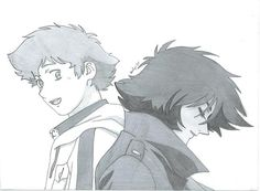 Hige and Blue by Gokage on DeviantArt