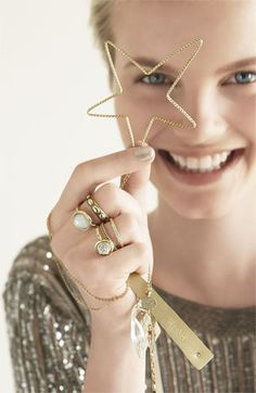 I want these rings! Oh, Nordstrom...