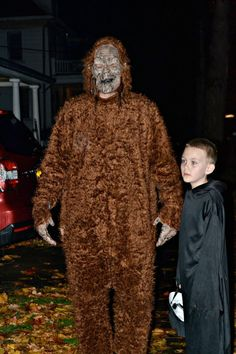 sasquatch is a great babysitter on halloween in new paltz - New Paltz Halloween