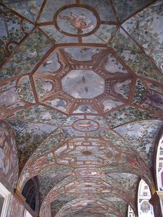 Palazzo Altemps, vaulted portico ceiling | Flickr - Photo Sharing!