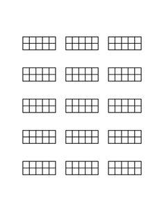 Dulcimer Chord Diagrams. Free PDF download at http://staffpaper.net/download/dulcimer-chord-diagrams/