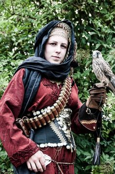 Arabian/desert Steampunk  Steampunk Amazon? I THINK SO!