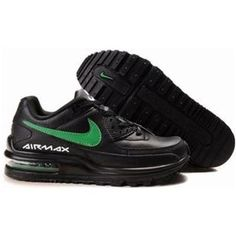 cheap for discount adf0e 13ed2 France Achat En Ligne Fc26b Homme Nike Air Max LTD II 2 Noir Vert Nike