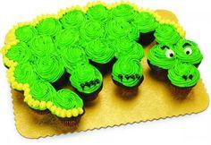Dinosaur / Dragon Cupcake Cake   Save-On-Foods