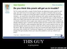 Hilarious Senior Pranks | ... of other friends / q&a :: funny pictures :: damotivation :: prank http://ibeebz.com