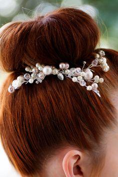 Bridal Hair Comb Crystal Wedding Headpiece Bridal от Mlleartsy