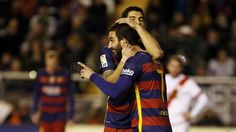 Rayo Vallecano - FC Barcelona (1-5)   FC Barcelona