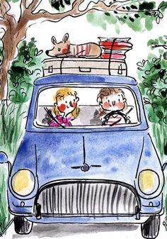 Girls Trip_Franziska Höllbacher Kinderbuch Illustration
