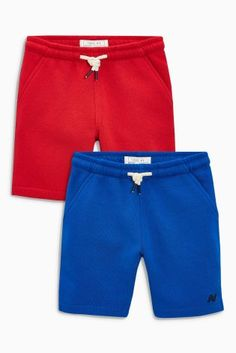 cfcb748bd Red Blue Shorts Two Pack (3-16yrs)