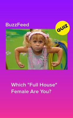 You got it, lady. Full House Quizzes, Full House Memes, House Jokes, Full House Funny, Full House Season 1, Full House Cast, Full House Tv Show, Quizzes Funny, Quizzes For Fun