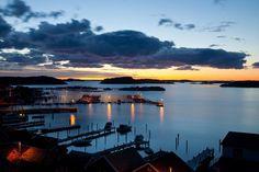 Sunset in Bovallstrand