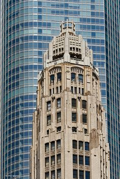 contrast of styles -Chicago
