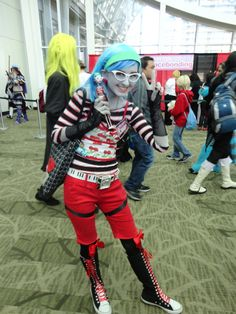 Perfect cosplay of Ghoulia Yelps :)