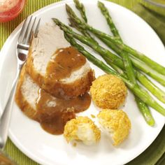 Make-Ahead Turkey and Gravy Recipe_    Relax by preparing your turkey ahead of time. With this recipe the turkey is cooked, sliced and ready in a nicely seasoned broth. It is also a nice way to bring a turkey to a potluck.