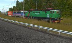 Sweden - Freight train