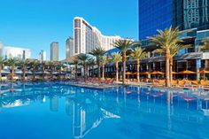 Elara by Hilton Grand Vacations - Center Strip (80 East Harmon Drive) Located on the Las Vegas Strip, the Elara by Hilton Grand Vacations is connected to the Miracle Mile Shops. It features a health club and a tropical outdoor pool. #bestworldhotels #hotel #hotels #travel #us #nevada