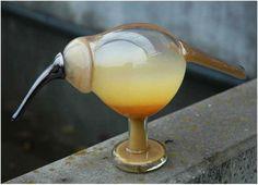 Glass Birds, Bird Art, Experiment, Denmark, Sweden, Glass Art, Alcoholic Drinks, Shelf, Pottery