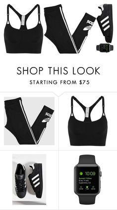 """""""Untitled #309"""" by l-have-secrets ❤ liked on Polyvore featuring adidas"""