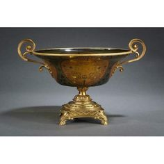 Green Gold Shamrock Bowl Bowls Decorative Bowls Home Decor