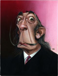Salvador Dali Artist: Achille Superbi website: http://www.achillesuperbi.it/